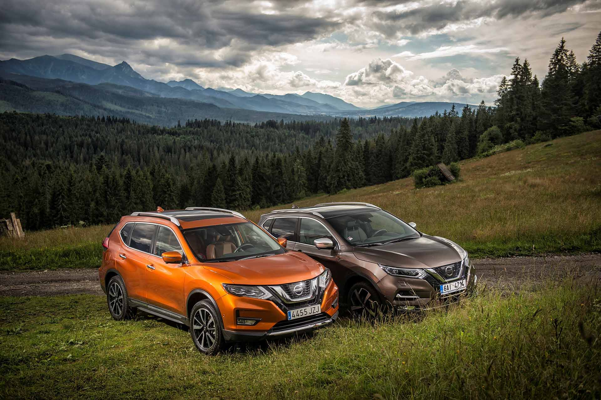 Nissan Qashqai és X-Trail