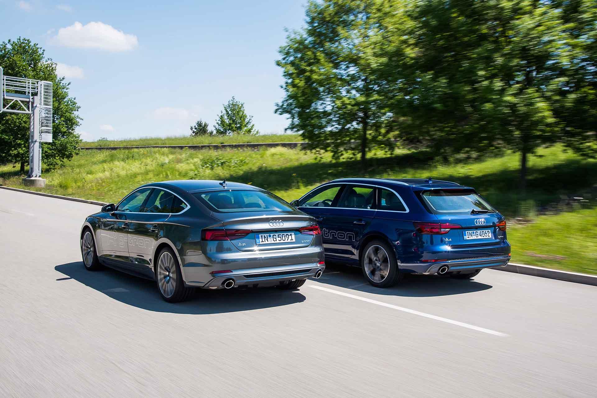 Audi A4 és A5 g-tron