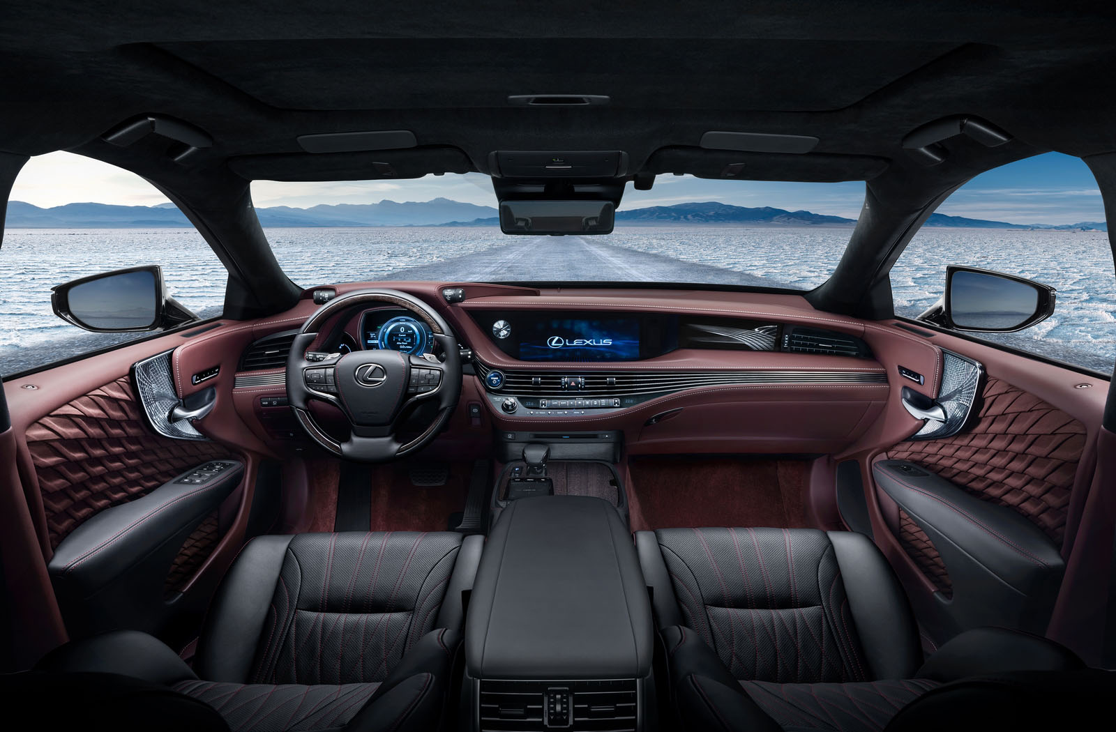 Lexus LS utastere