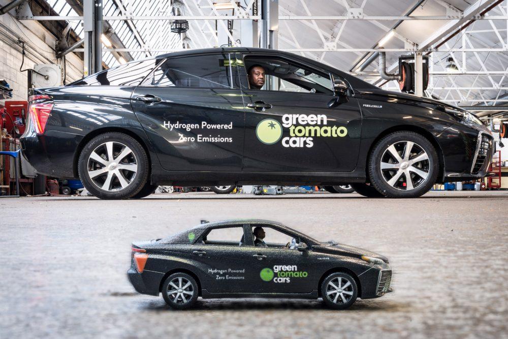Toyota Mirai Taxi
