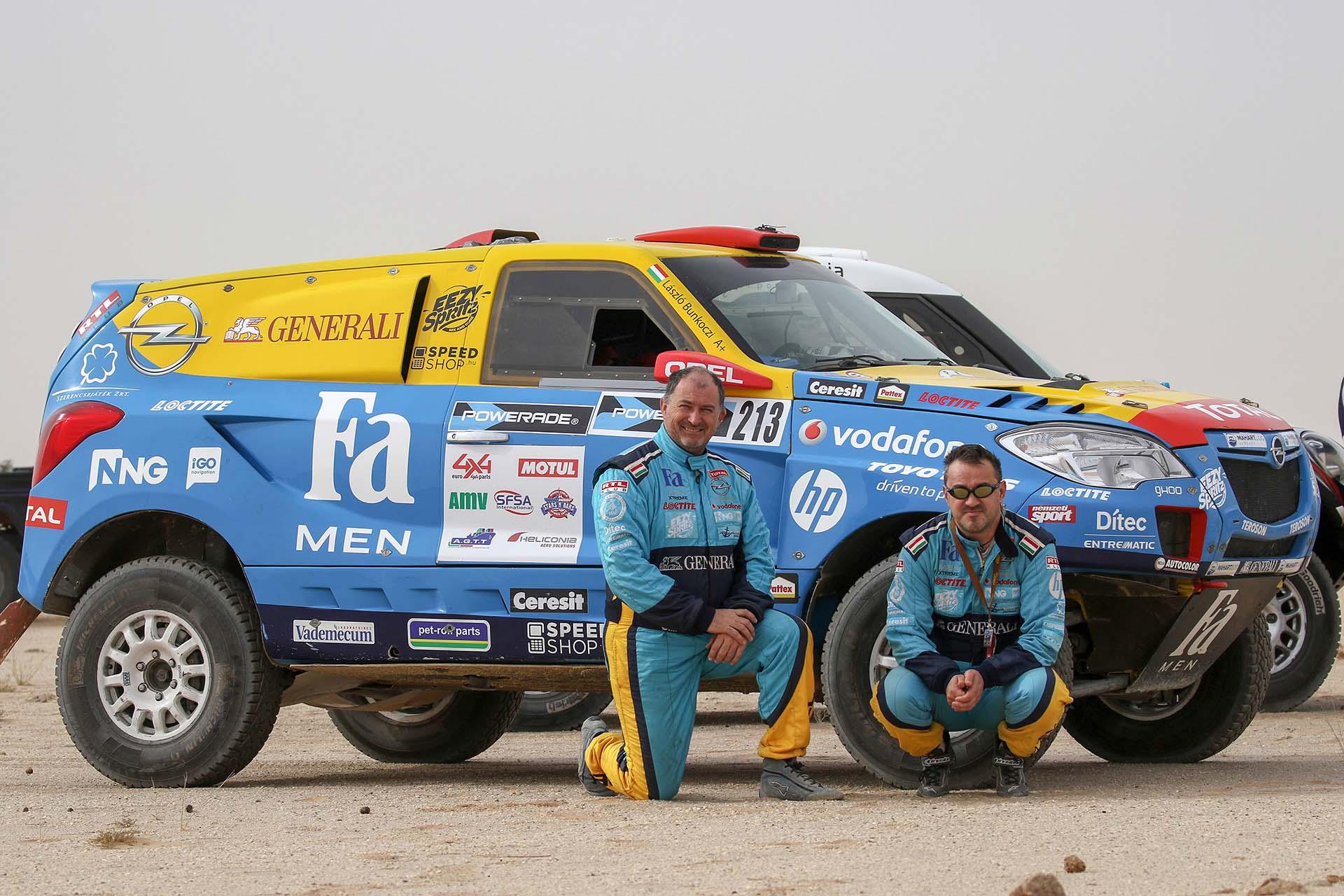 Opel Dakar Team (15.)