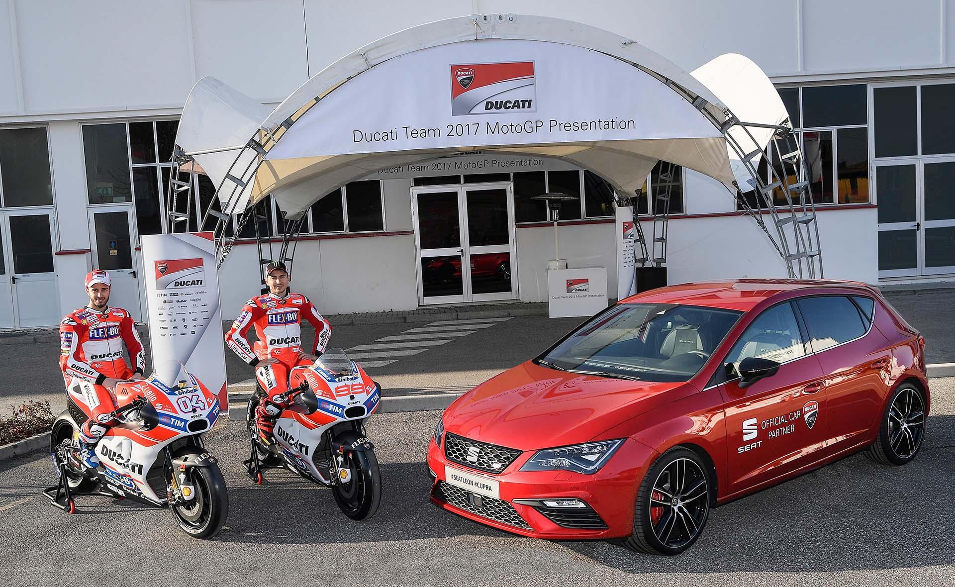 SEAT és a Ducati
