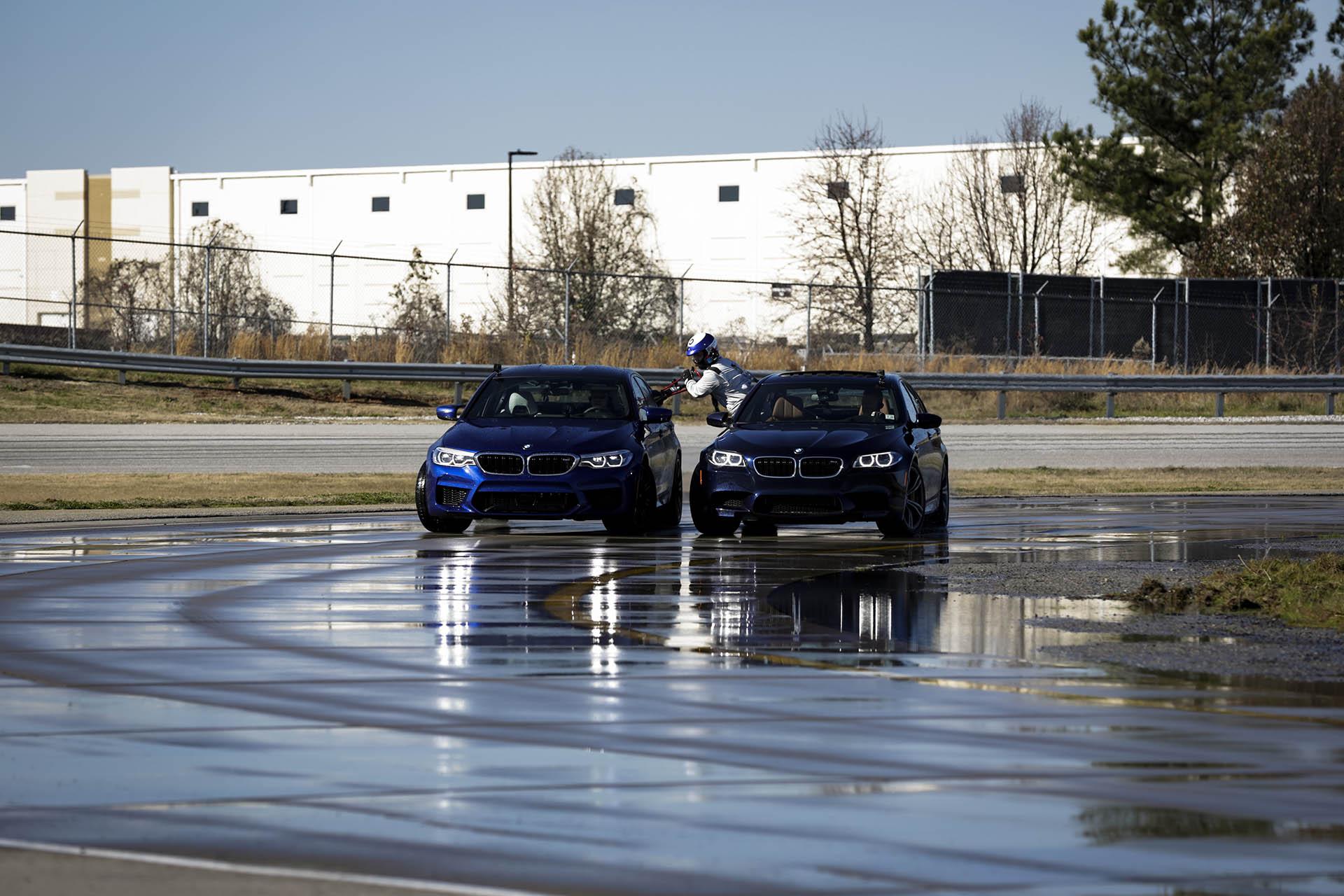 BMW M5 dupla GUINNESS világrekord