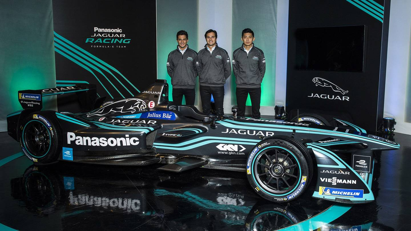 Panasonic Jaguar Racing Formula E 3