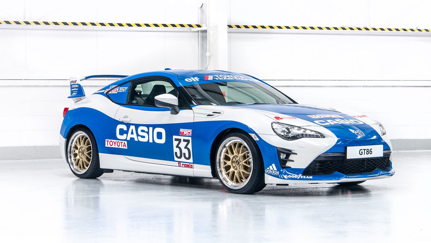 Toyota GT86 Le Mans Heritage Casio