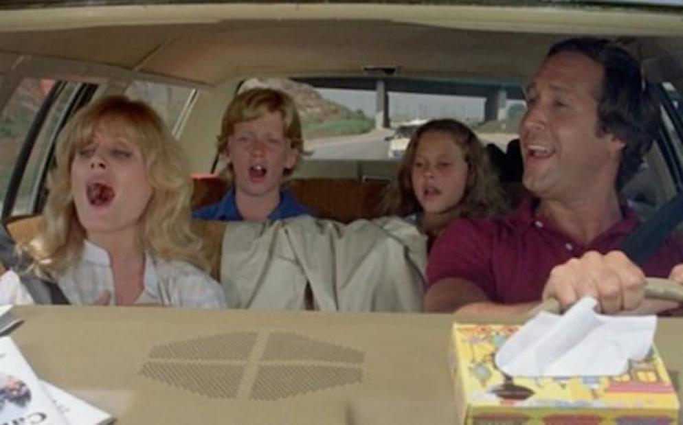 Autós nyaralás