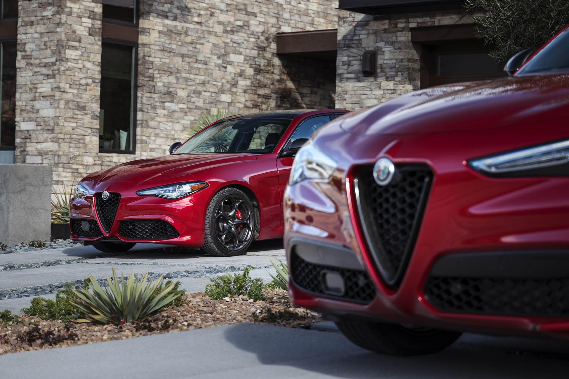 Alfa Romeo Giulia és Stelvio Nero Edizione