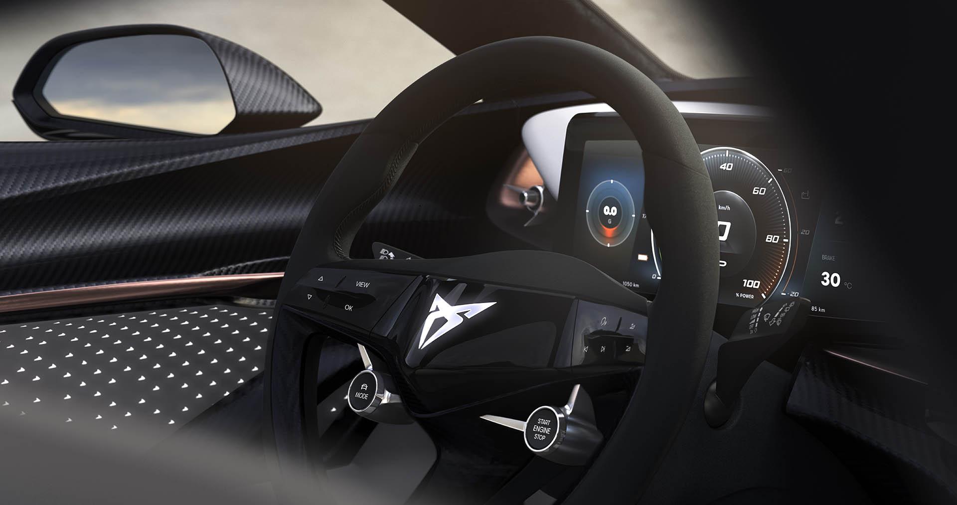 CUPRA concept Cockpit
