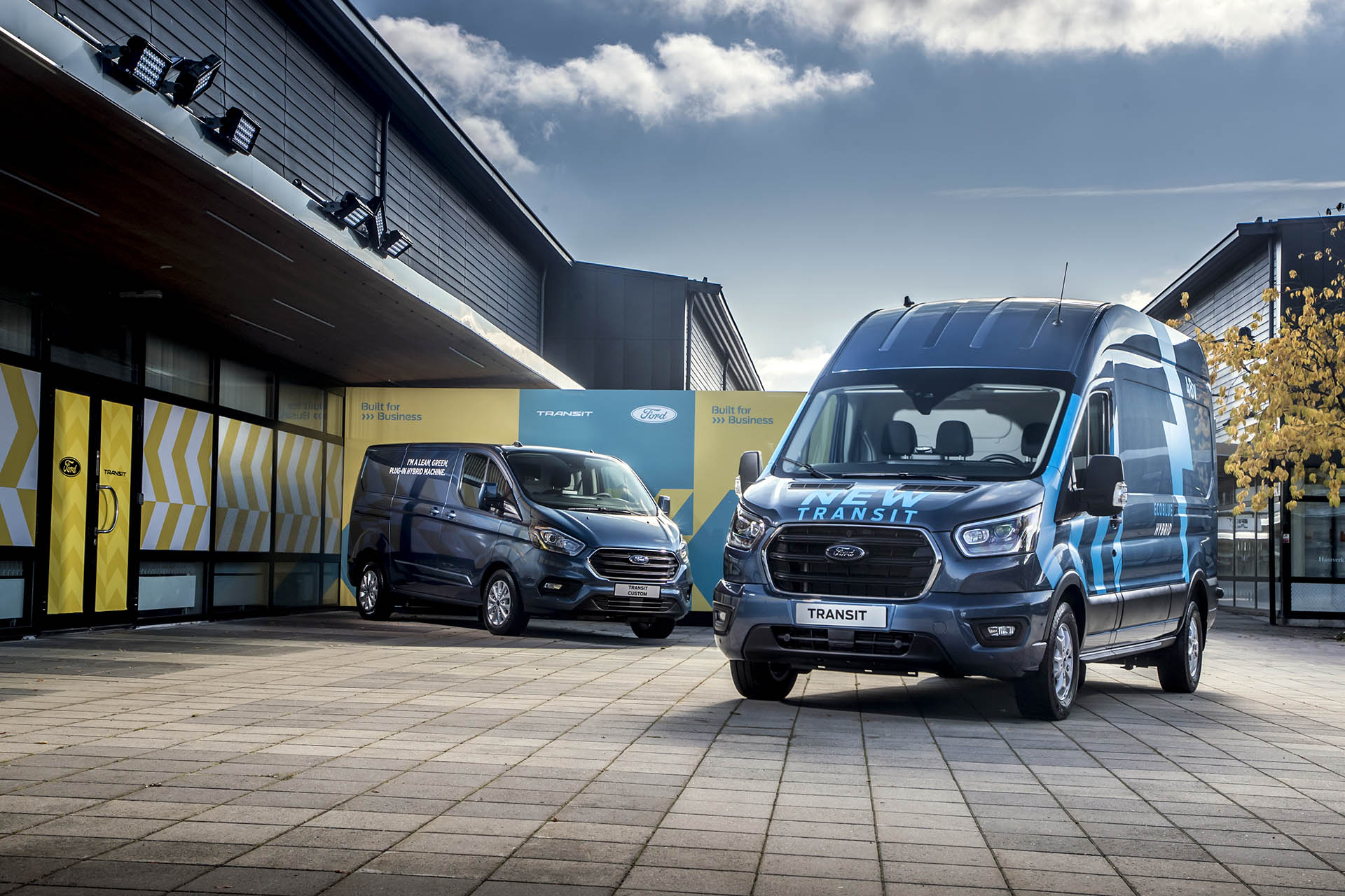 Ford Transit Smart Energy