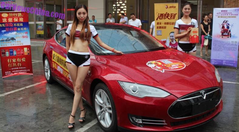 Tesla Kínában