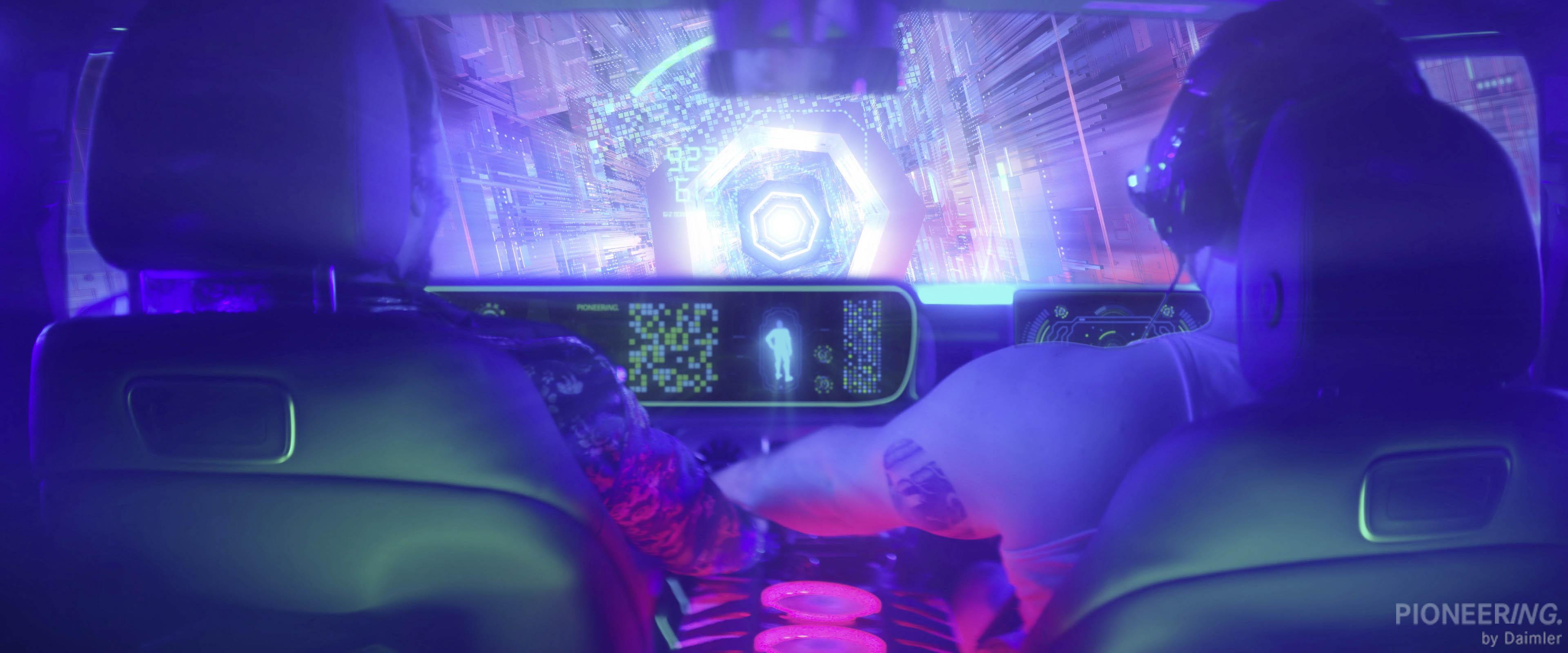 Mercedes-Benz In-Car Gaming Challenge