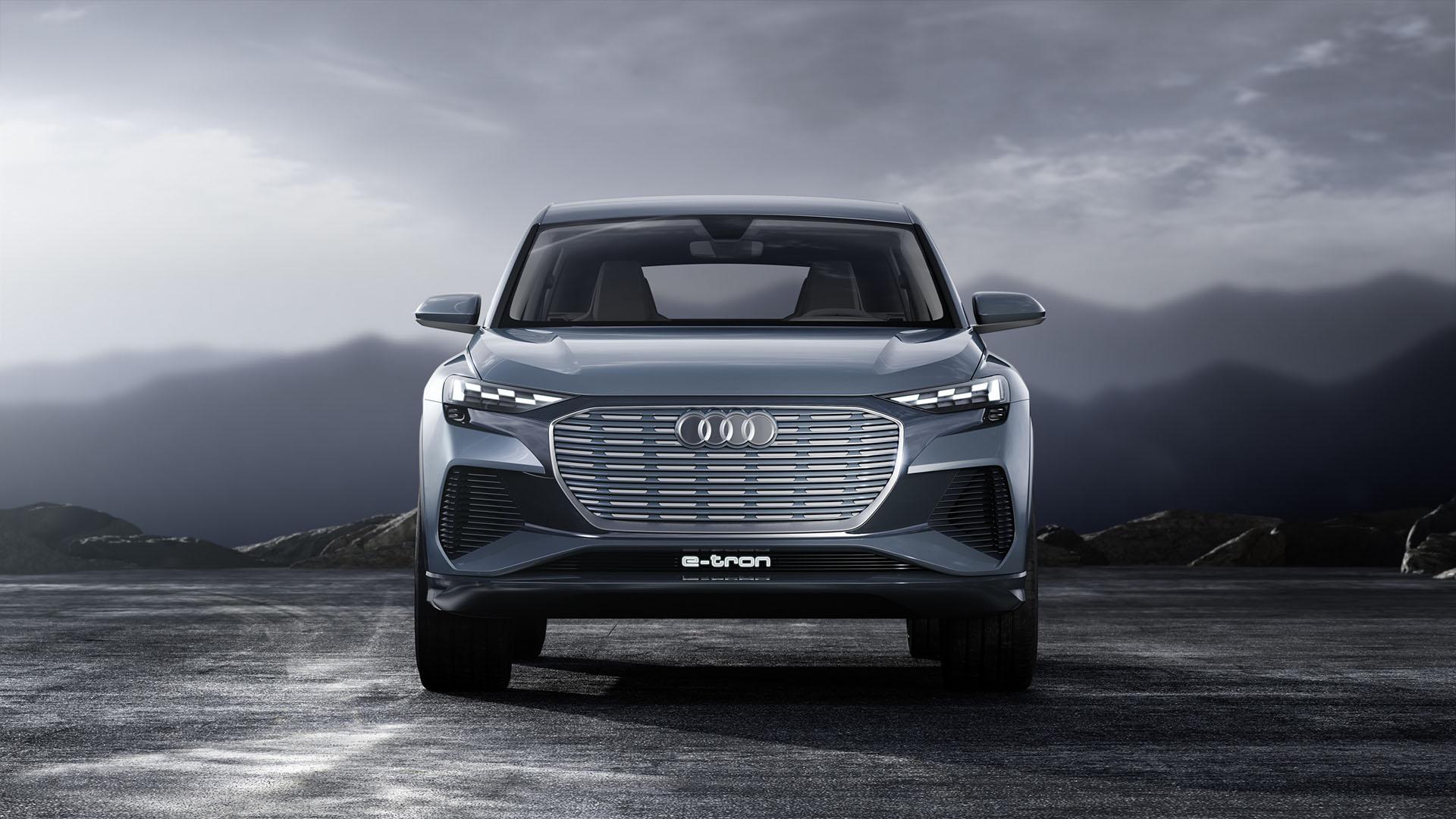 Audi Q4 e-tron tanulmány