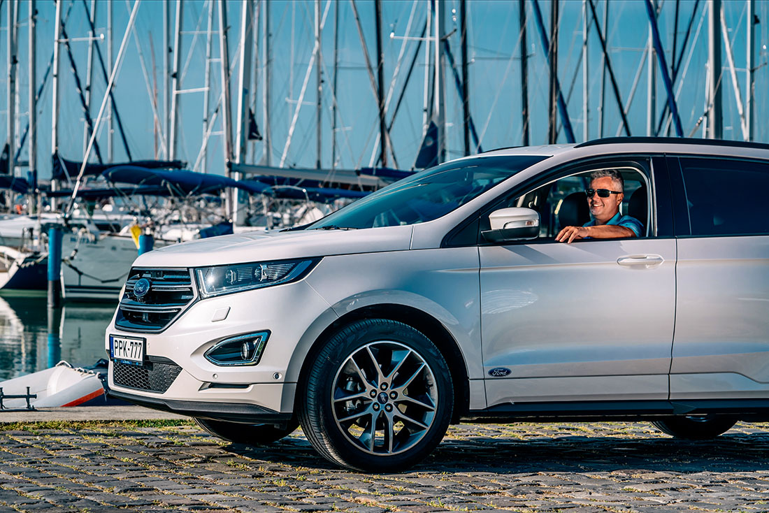 Ford Edge nagykövet