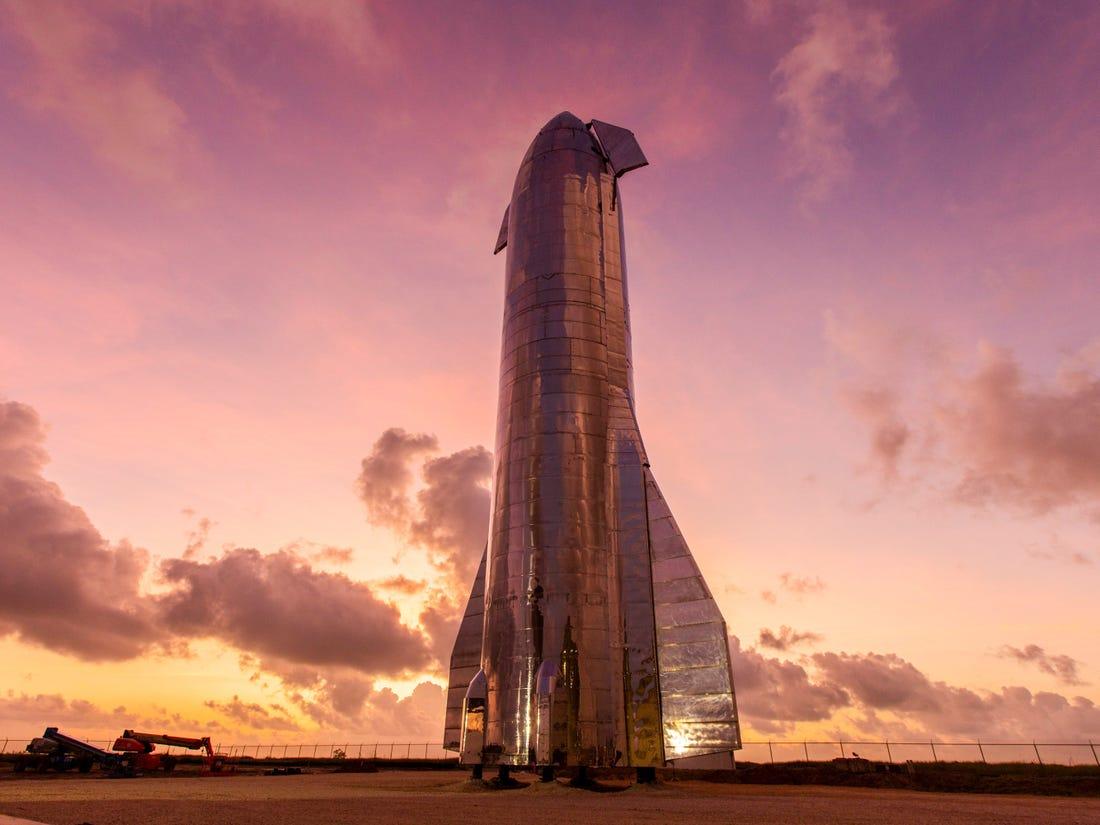 SpaceX Starship űrhajó