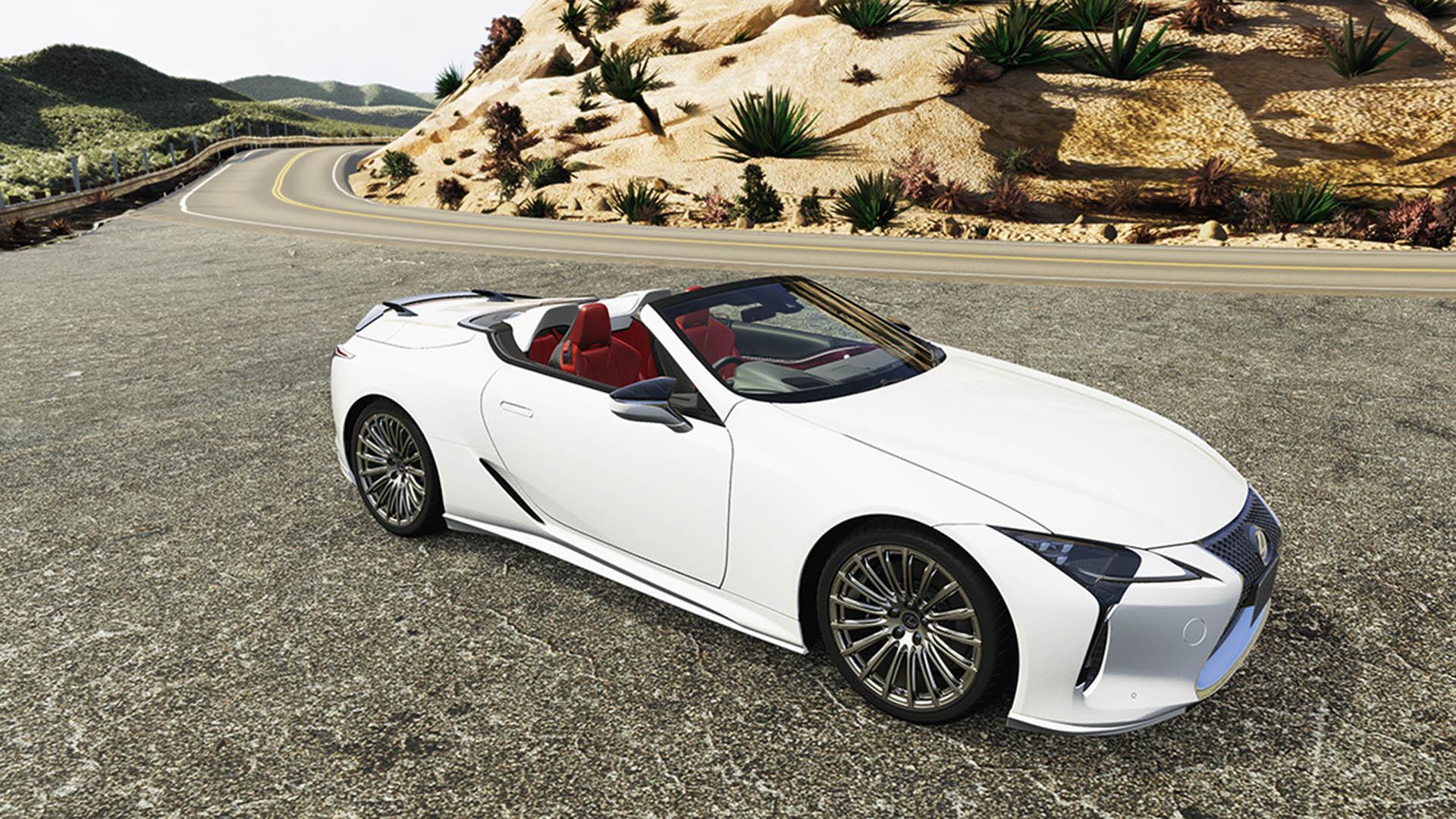 Lexus LC Convertible TRD