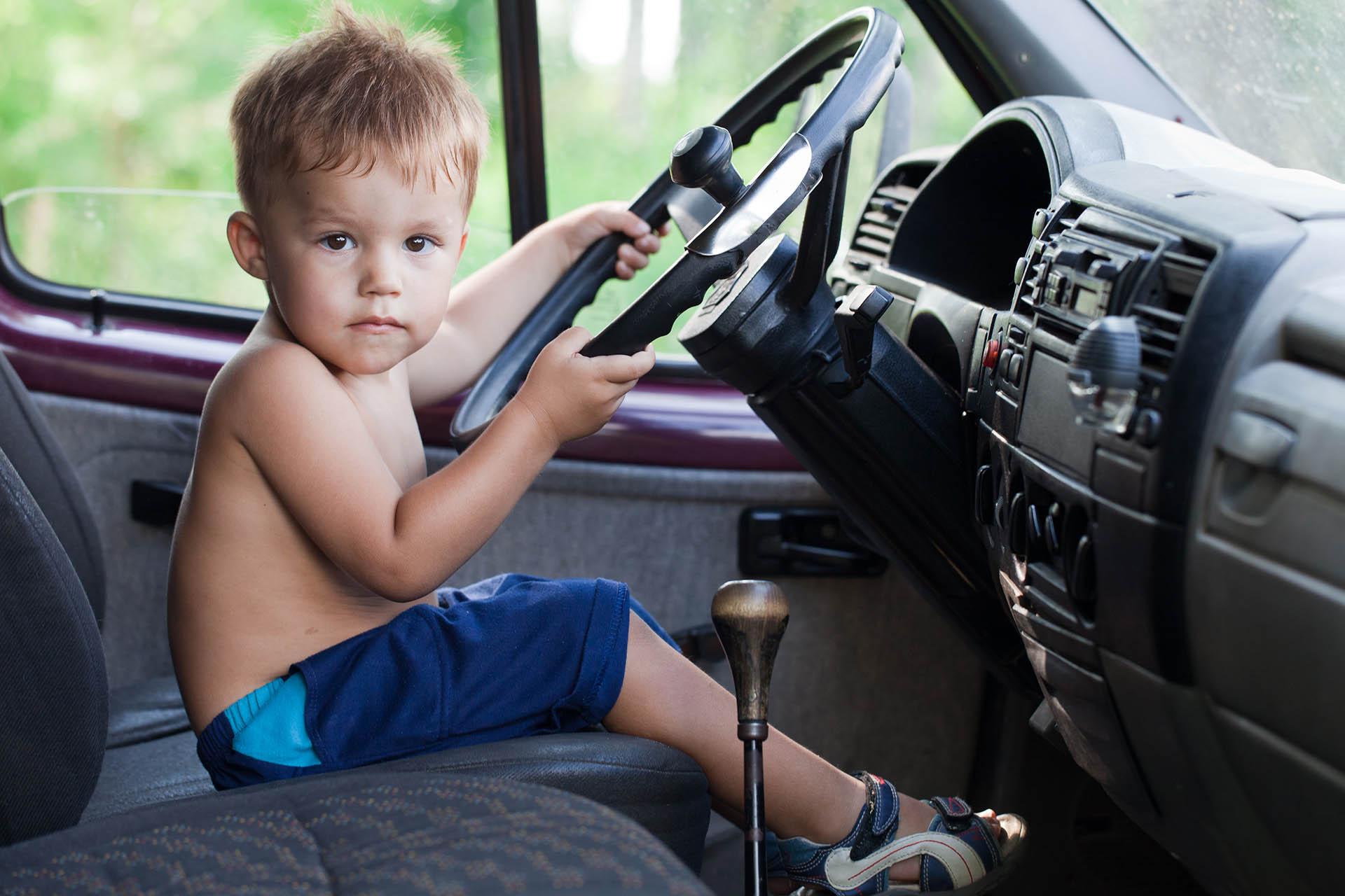 15 éves autóvezető