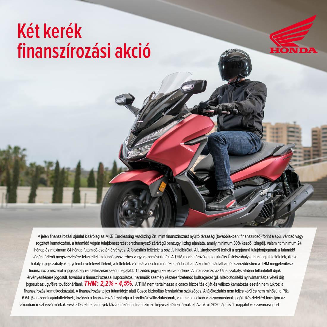 Honda motorok