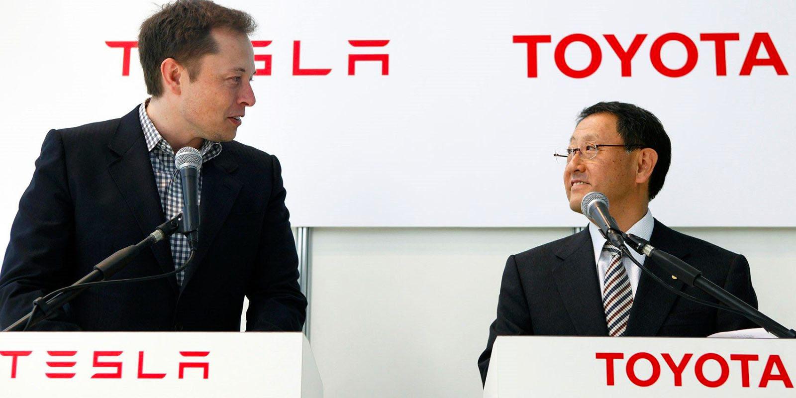 Toyota és a Tesla