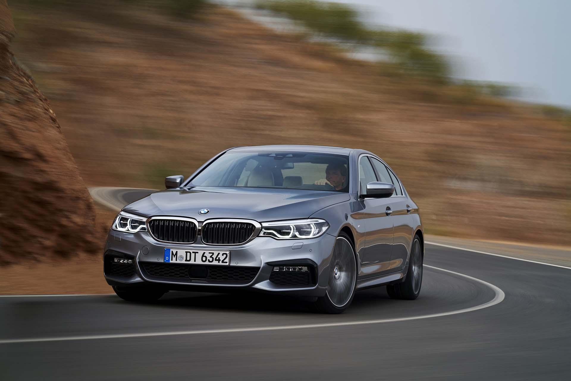 BMW 5-ös sorozat 2017