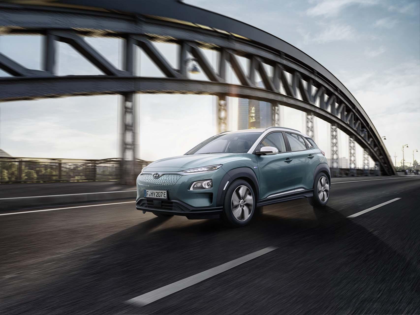 Hyundai Kona és Kona Electric CUV