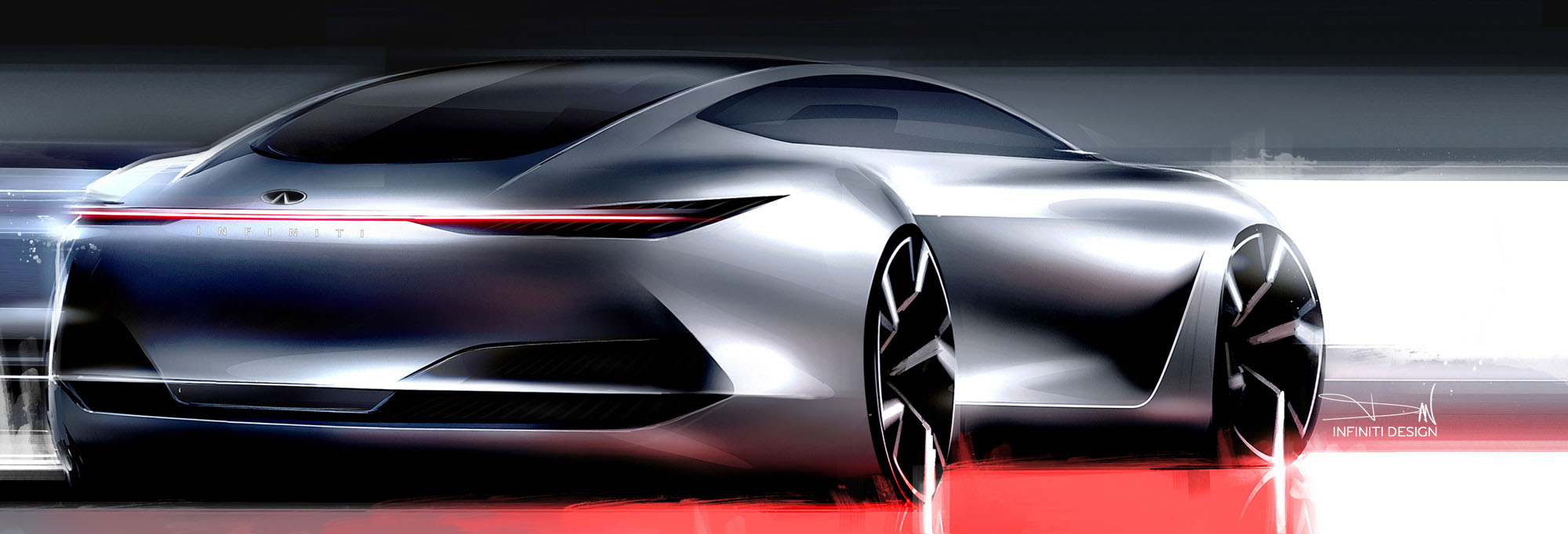 INFINITI Q Inspiration Design sketch