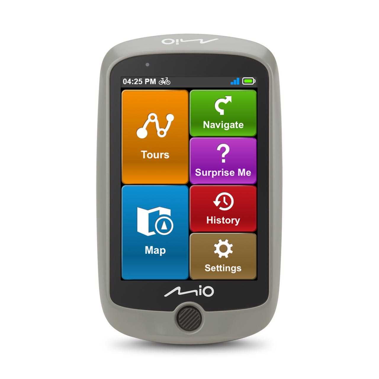 Cyclo Discover front screen