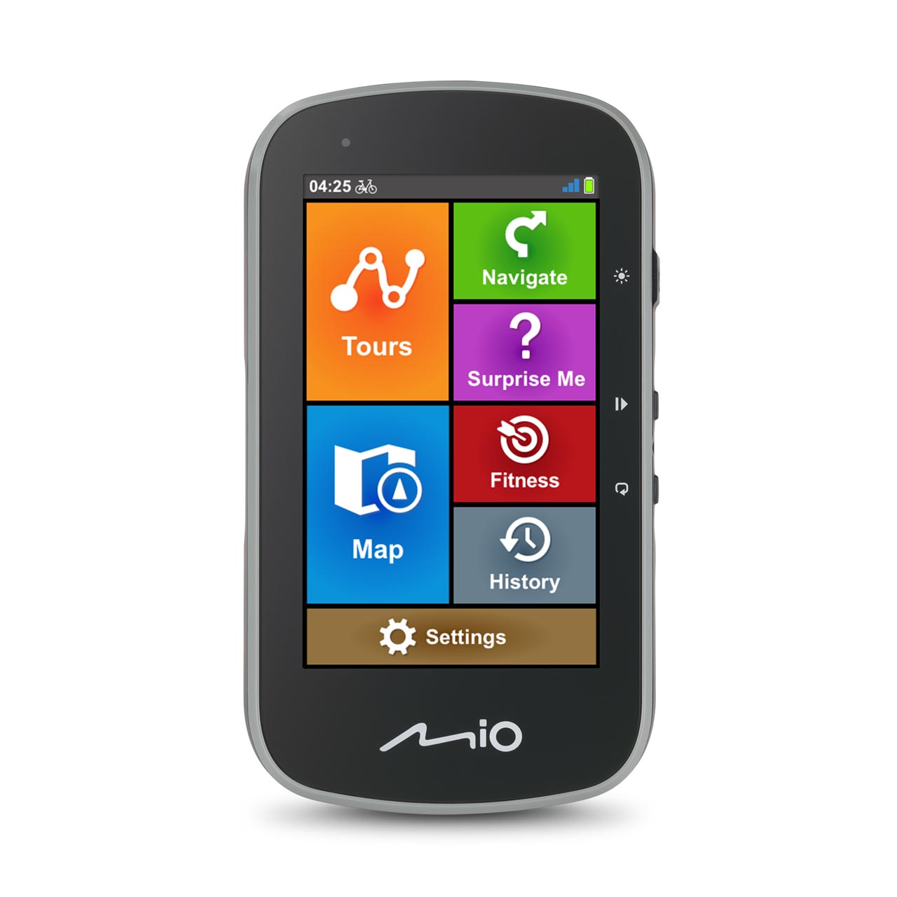 Cyclo Discover plus front screen