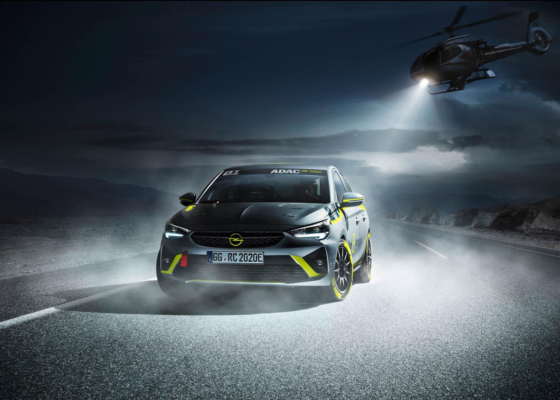 Opel Corsa-e Rally Car