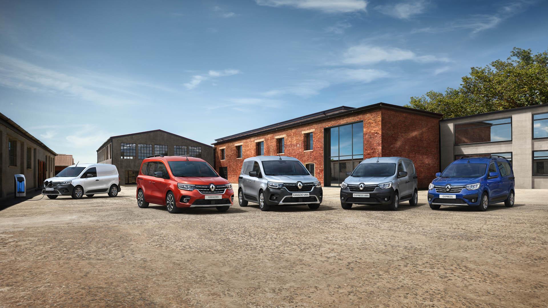 Renault Kangoo és Express 2021
