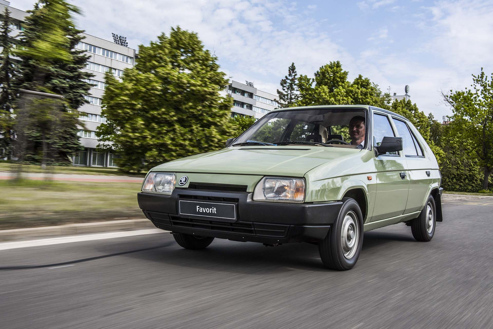 SKODA FAVORIT Entering an era of success 30 years ago 10